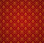Red Seamless wallpaper pattern, vector — Stock Vector