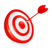 Target, vector — Stock Vector