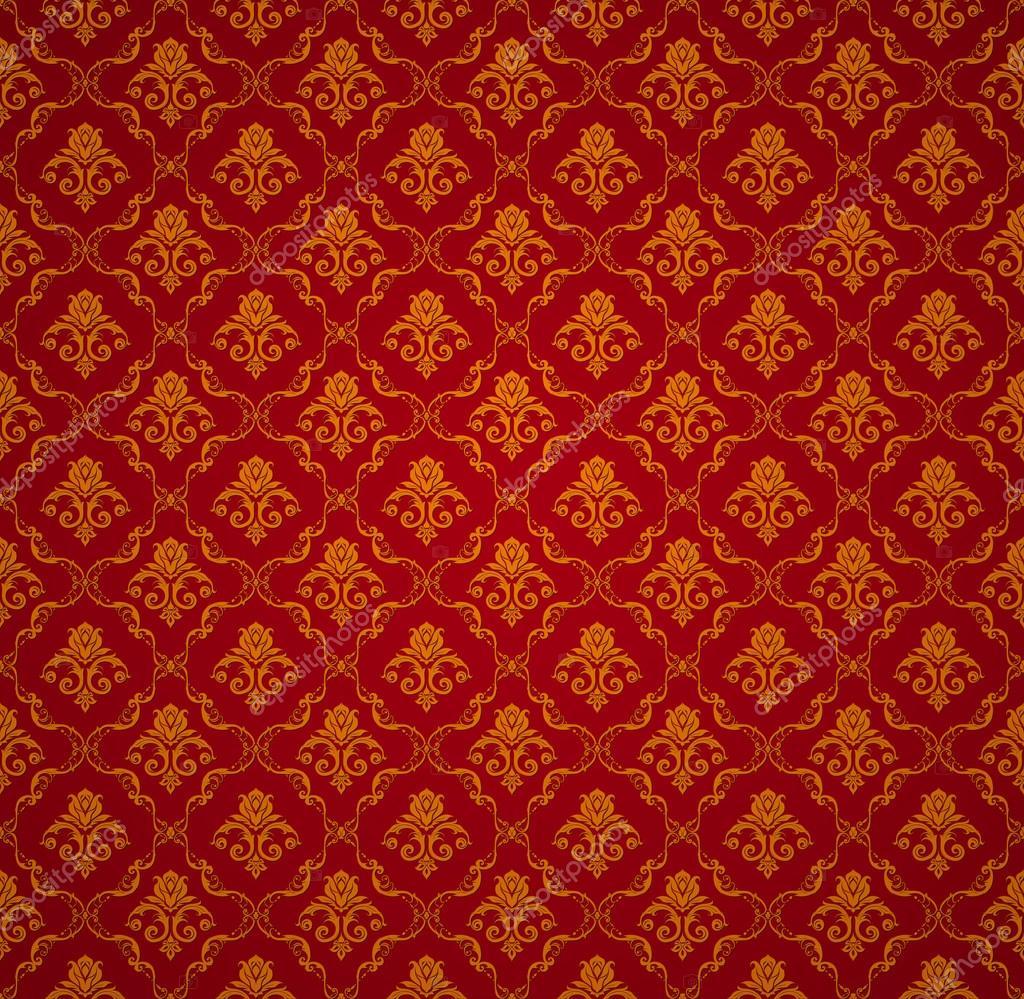 rote nahtlose tapete muster vektor stockvektor natis76 12782332. Black Bedroom Furniture Sets. Home Design Ideas