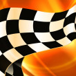 Royalty-Free Stock Imagem Vetorial: Background Horizontal Checkered