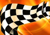 Background Horizontal Checkered — Stock Vector