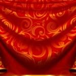 Curtain pattern — Stock Vector #12802770