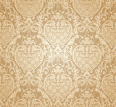 Seamless wallpaper pattern, vector — Stock Vector