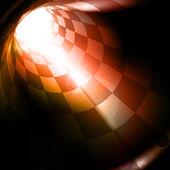 Túnel quadriculada, eps10 — Vetorial Stock