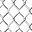 Stock Vector: Wire mesh, seamless