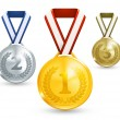 medallas, 10eps — Vector de stock  #12820734