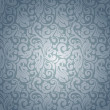 Royalty-Free Stock Vector Image: Blue pattern seamless