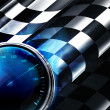 Checkered Background — Imagens vectoriais em stock