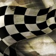 Background Horizontal Checkered, old-style vector - Stock Vector