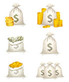 Bags of money, 10eps — Stockvektor