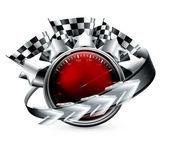 Rally Emblem, 10eps — Stock Vector