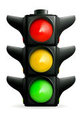 Traffic lights, 10eps — Vector de stock
