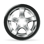 Car Wheel, vector — Vetorial Stock