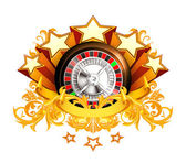 Roulette insignia, 10eps — Stock Vector