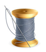 Spool of thread, vector — Stock Vector