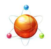 Atom — Stock Vector