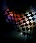 Dark Checkered Background — Vetorial Stock