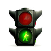 Green light — Vector de stock