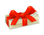 Money gift — Stock Vector