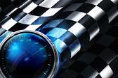 Fundo xadrez — Vetor de Stock