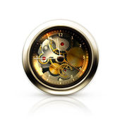 Mechanical clock — Stock Vector
