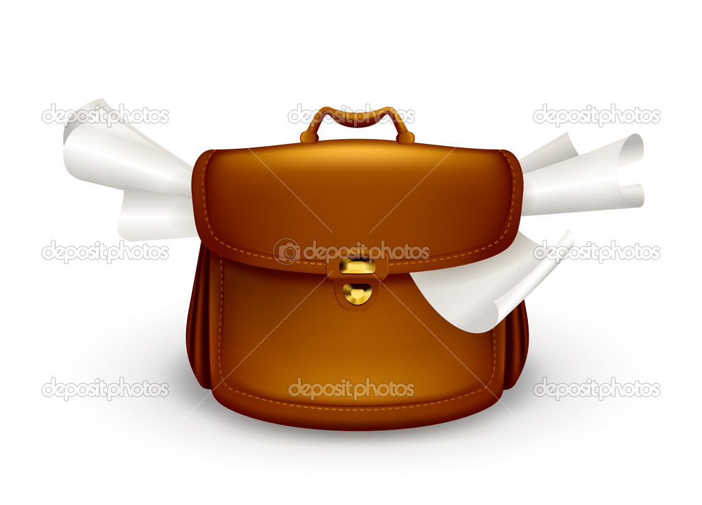 Open Briefcase Vector Briefcase 10eps Vector by
