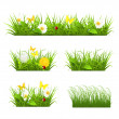 Grass set — Stock Vector #12833919