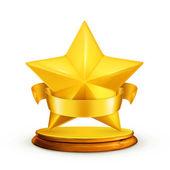 Icono de estrella — Vector de stock