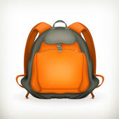 Backpack, vector — Stock Vector