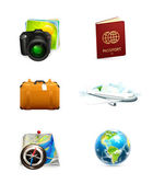 Travel icon set — Stockvector