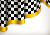 Checkered invitation background, vector — Stock Vector