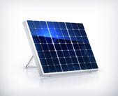 Solar panel, vector — Stock Vector