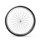 Bisiklet tekerleği, vektör — Stok Vektör