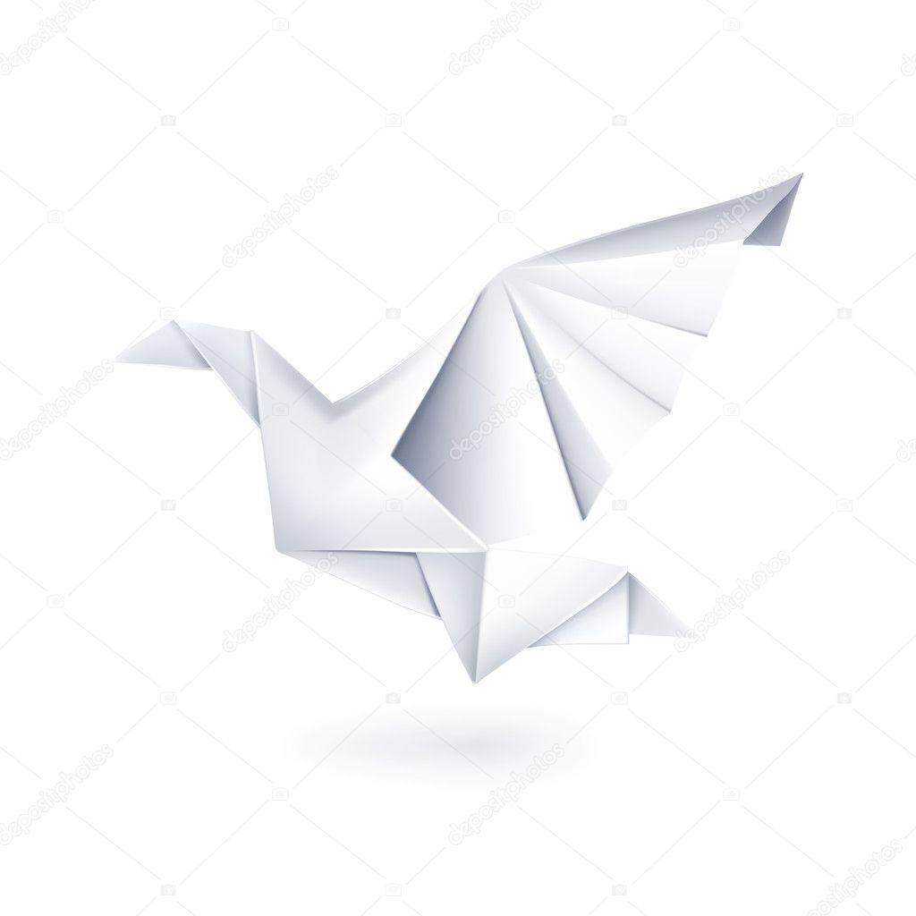 go b papieru origami grafika wektorowa natis76 12834174. Black Bedroom Furniture Sets. Home Design Ideas
