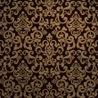 Vintage seamless pattern - Image vectorielle