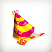 Party hat — Vettoriale Stock