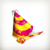 Sombrero del partido — Vector de stock