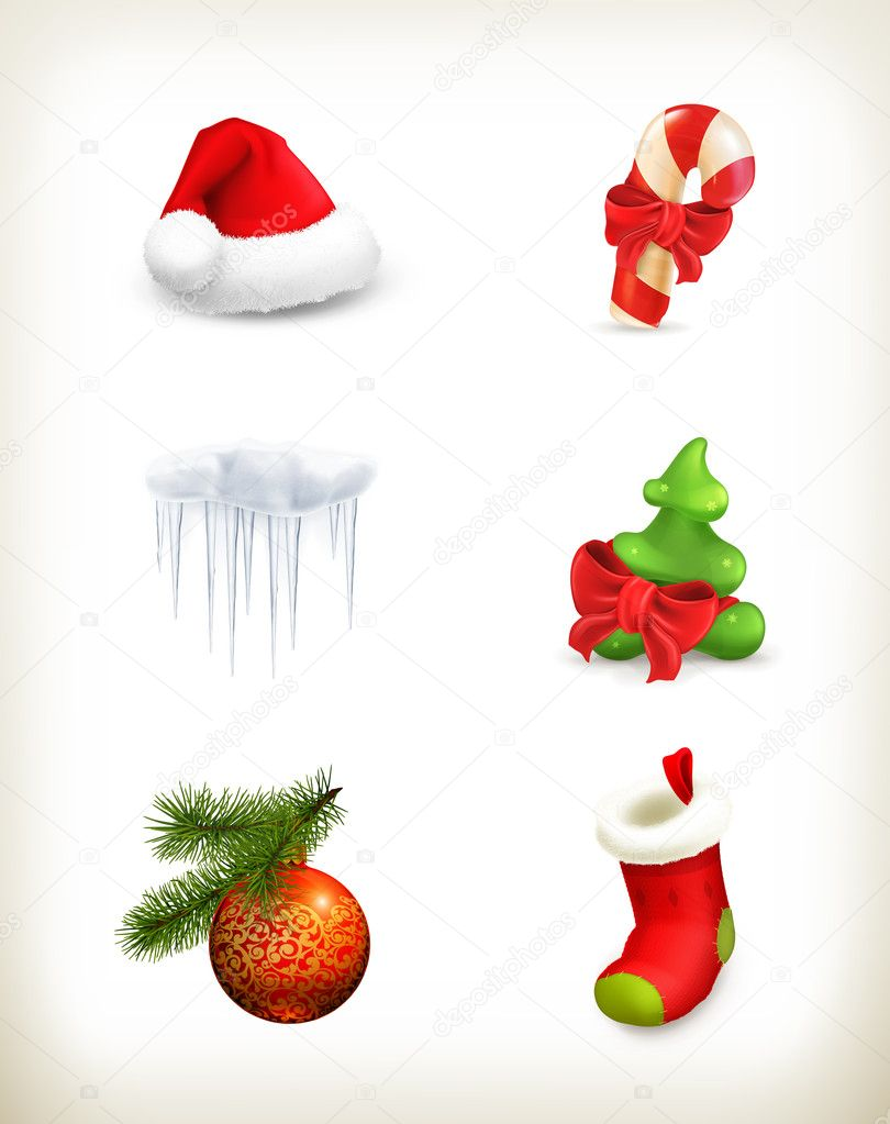Christmas set — Stock Vector #14634991