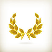 Laurel wreath, award — Stock Vector