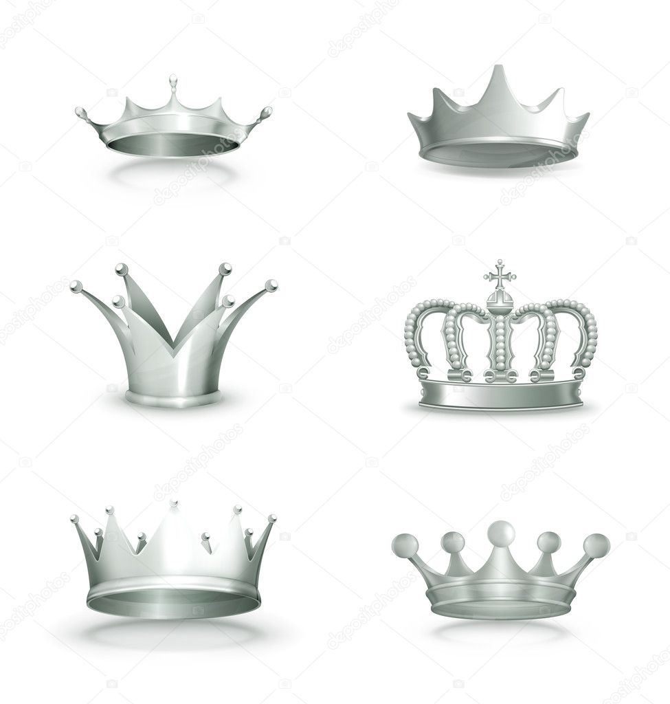 Shield design set royalty free stock photos image 5051988 - Silver Crowns Set Vector By Silver Crown Vector Black Crowns Royalty Free
