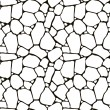 Stones seamless pattern, vector - Stock Vector