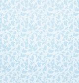 Seamless pattern vector, blue — Stock Vector