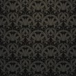 Seamless pattern vector, black - Stock Vector