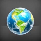 Earth, vector — Stock Vector