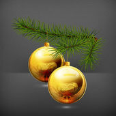 Christmas decorations, 10eps — Vector de stock