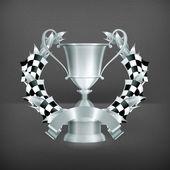 Emblem Racing — Stock Vector