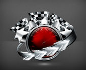 Rally Emblem, 10eps — Vettoriale Stock