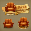 Vetorial Stock : Chair, vector