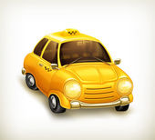 Taxi vector icon — Stock Vector