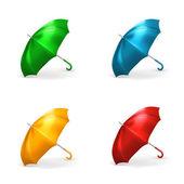 Umbrella, vector illustration set — Stockvector